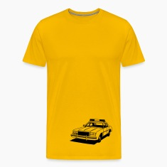 Police Car Retro T-Shirts