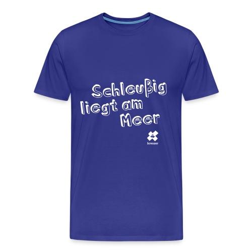 kreuzer-Shirt Schleußig Herren - Männer Premium T-Shirt