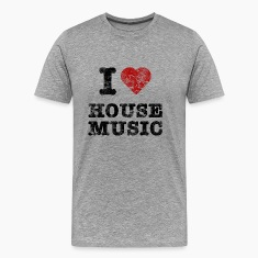 i_love_housemusic_vintage T-Shirts