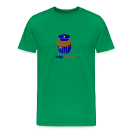 T-shirts ~ Mannen Premium T-shirt ~ Copcake (heren)