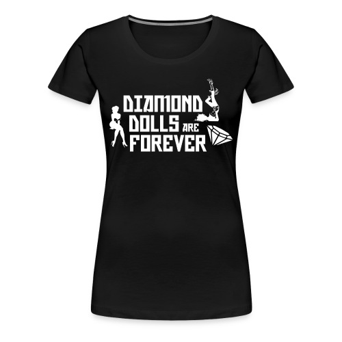 Diamond Dolls - Women's Premium T-Shirt