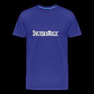 T-shirts ~ Premium-T-shirt herr ~ SvM-shirt Blå