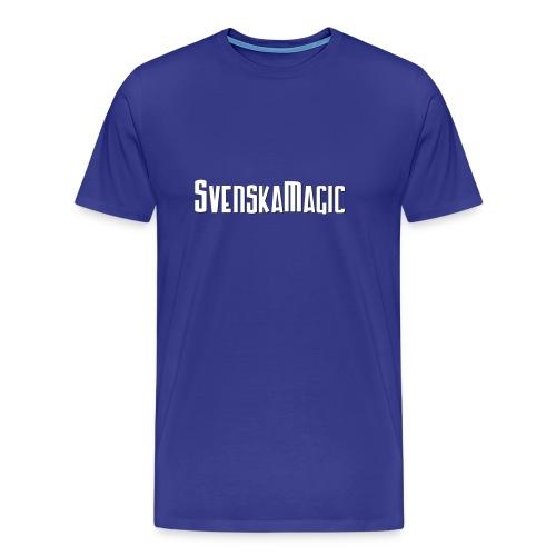 SvM-shirt Blå - Premium-T-shirt herr