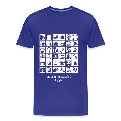 T-shirt-jeu 36·jeux·de·société - T-shirt Premium Homme