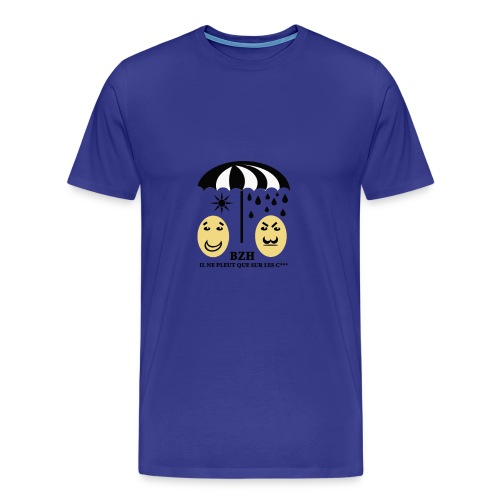 T-shirt Bretagne Proverbe - T-shirt Premium Homme