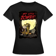 T-Shirts ~ Frauen T-Shirt ~ My little Zombie - Girlieshirt