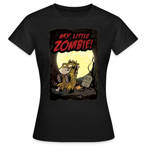 My little Zombie - Girlieshirt - Frauen T-Shirt