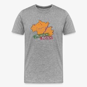 Munich Beach | T-Shirt | Men - Männer Premium T-Shirt