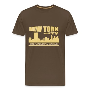 T shirt homme new york city - T-shirt Premium Homme