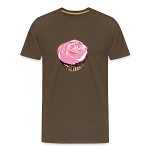 Cupcake on Color - Men's Premium T-Shirt