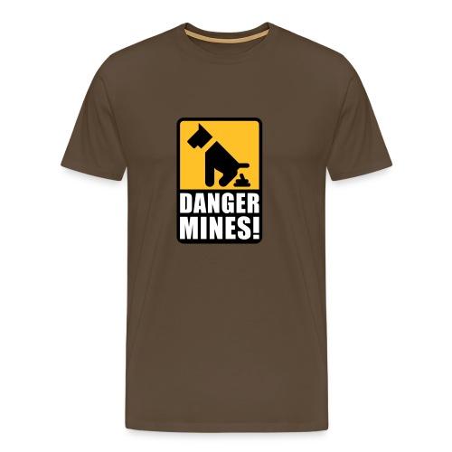 Danger Mines - Shirt - Männer Premium T-Shirt