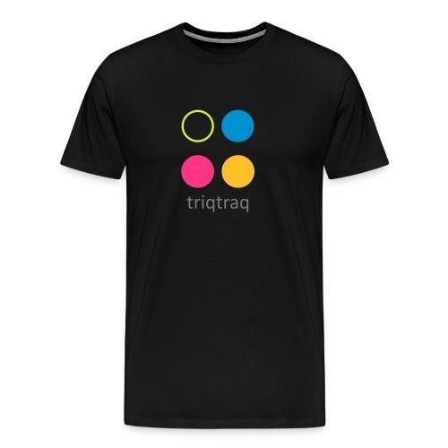 triqtraq Large Logo - Men's Premium T-Shirt