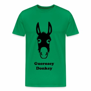 Guernsey Donkey T-Shirt Perfect for Father's Day - Men's Premium T-Shirt