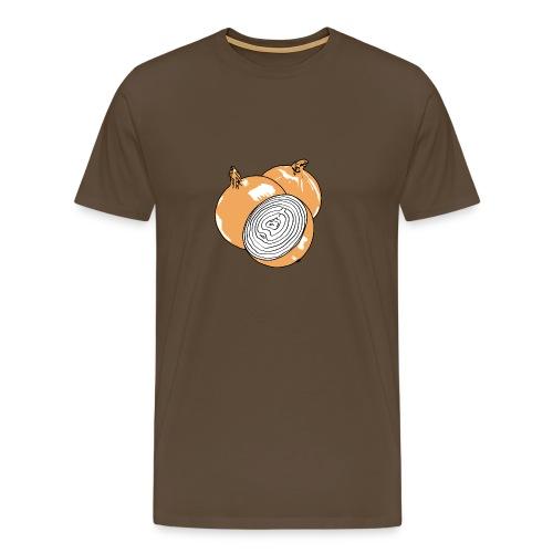 Onions on Color - Men's Premium T-Shirt