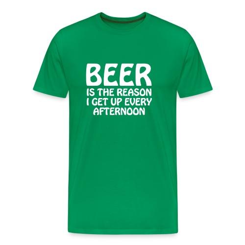 Men's classic beer is the reason t-shirt - Men's Premium T-Shirt