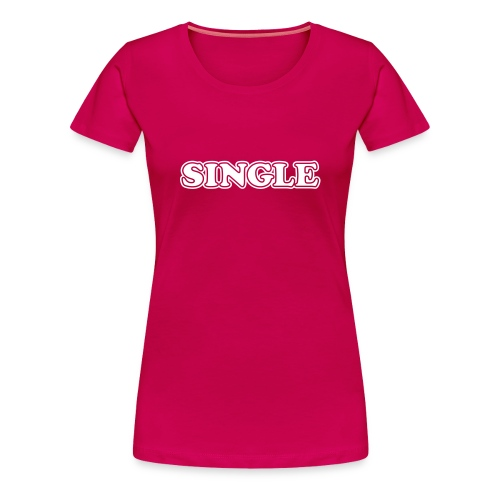 Single tshirt - Vrouwen Premium T-shirt