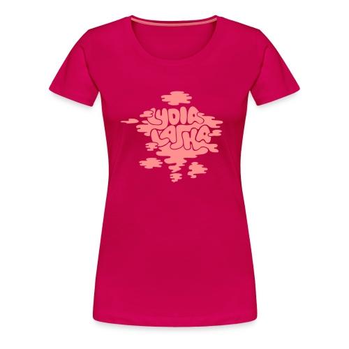 Lydia Laska pink woman - Premium T-skjorte for kvinner
