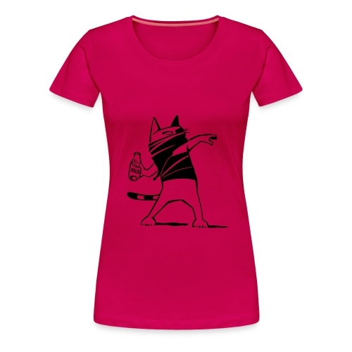 """Katze against"" Girlie - Frauen Premium T-Shirt"