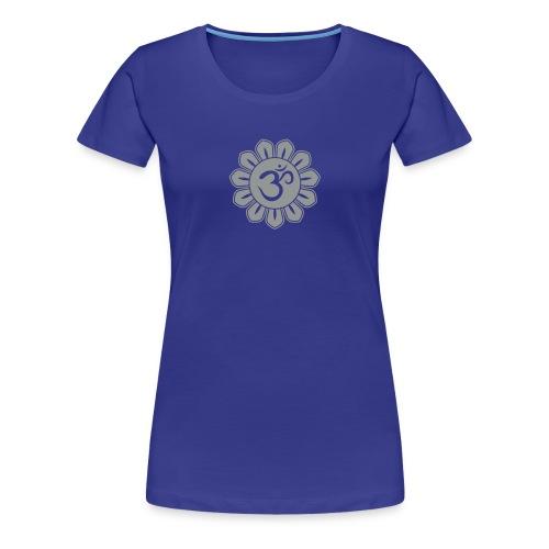 tu. omm lotusbluete shirt - Frauen Premium T-Shirt