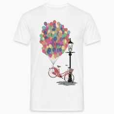 Love to Ride my Bike with Balloons T-Shirts