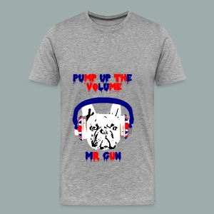 Mr Gun Pump Up The Volume - So British - T-shirt Premium Homme