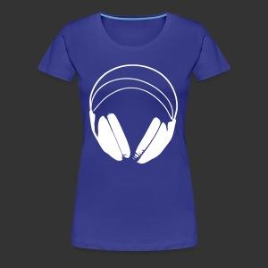 *FAVORI* T-Shirt casque podradio femme - T-shirt Premium Femme