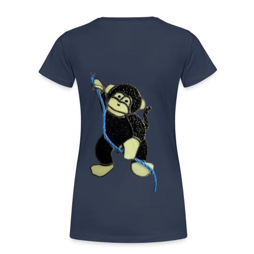 Cheeky monkey - Women's Premium T-Shirt