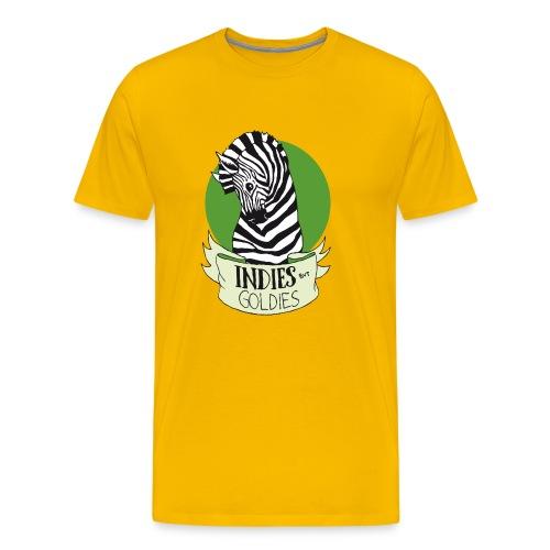 Indies But Goldies - Zebra - Männer Premium T-Shirt