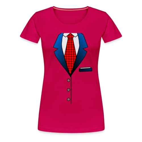 Suit - Women's Premium T-Shirt