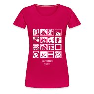 Tee shirts ~ T-shirt Premium Femme ~ T-shirt-jeu 16·peintres