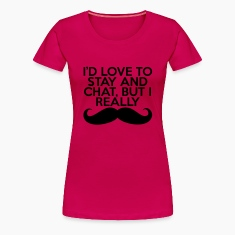 I Really Mustache  T-paidat