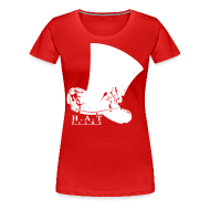 T-Shirts ~ Women's Premium T-Shirt ~ Official Hat Films (Front White)