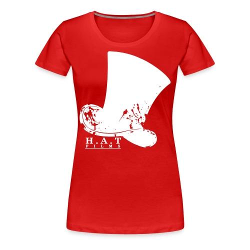 Official Hat Films (Front White) - Women's Premium T-Shirt
