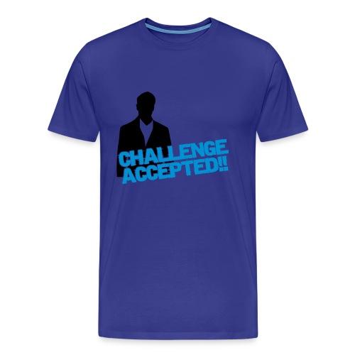 t-shirt challenge (homme) - T-shirt Premium Homme