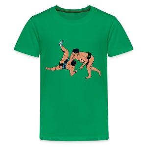 teenager T-shirt met sumoworstelaars - Teenager Premium T-shirt