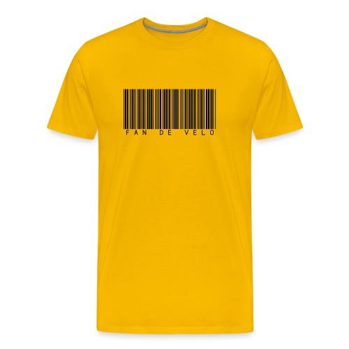 Tee shirt fan de vélo - T-shirt Premium Homme