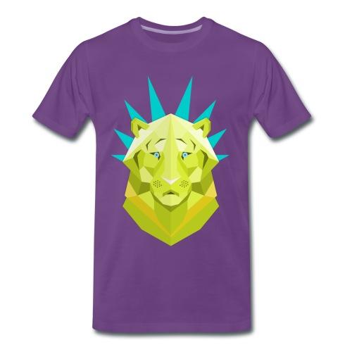 Tete de lion - T-shirt Premium Homme