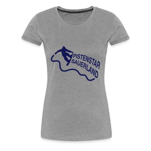Pistenstar - Frauen Premium T-Shirt