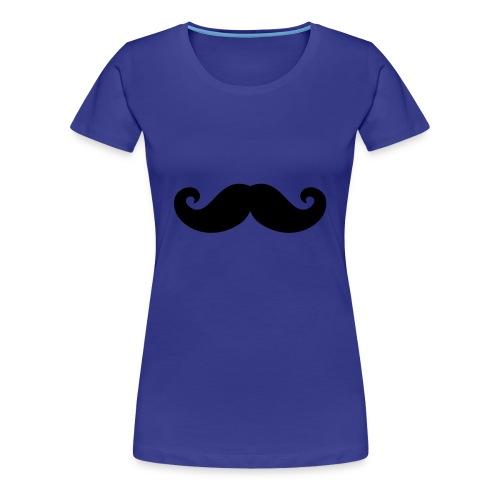 Moustache Femme - T-shirt Premium Femme