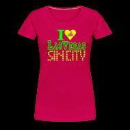 T-Shirts ~ Women's Premium T-Shirt ~ I like Las Vegas sin city