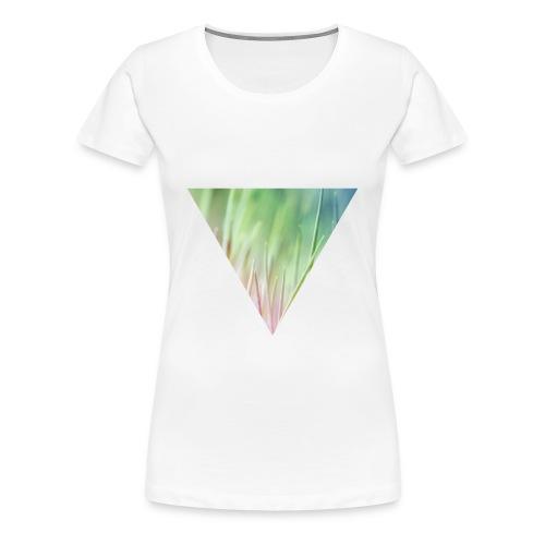Gras im Dreieck Frauen T-Shirt - Frauen Premium T-Shirt