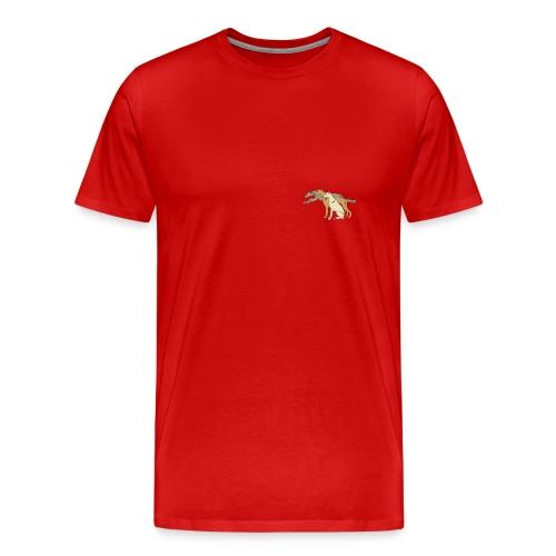 T-shirt, litet tryck fram - Premium-T-shirt herr