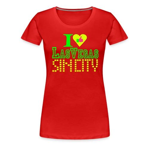 I like Las Vegas sin city - Women's Premium T-Shirt