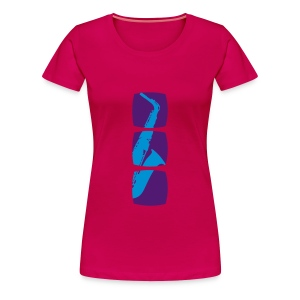 Saxophone T-Shirt - Women's Premium T-Shirt