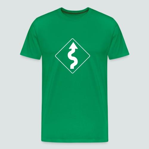 Kurven, Mens T-Shirt - Männer Premium T-Shirt