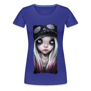 RHONA classic girl shirt teal - Frauen Premium T-Shirt