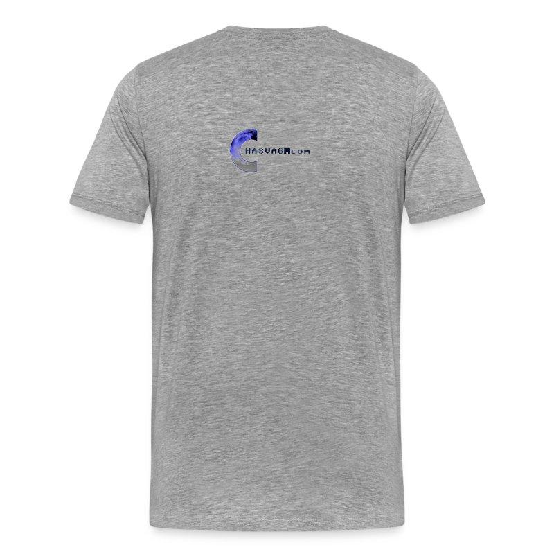 Premium T-skjorte for menn - Regnbuepyttene - Design av Viola Depcik