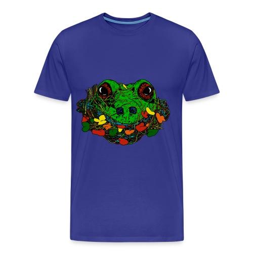 mannen T-shirt kikker - Mannen Premium T-shirt
