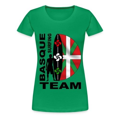 Euskadi surfing team - Women's Premium T-Shirt