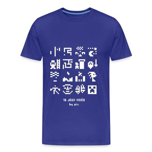 T-shirt-jeu 16·jeux·vidéo - T-shirt Premium Homme